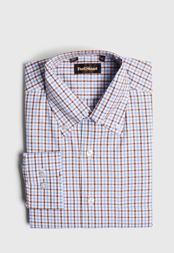 Check Cotton Sport Shirt, image 1