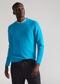 Brushed Merino Wool Sweater, thumbnail 2