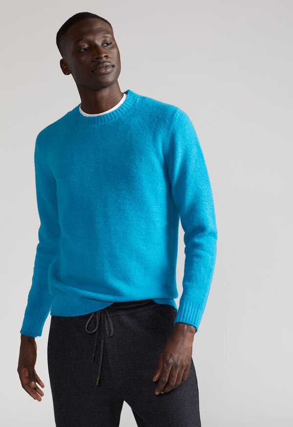 Brushed Merino Wool Sweater, image 2
