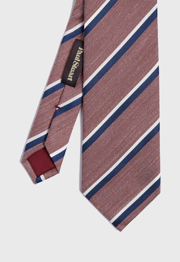 Stripe Silk Tie, image 1