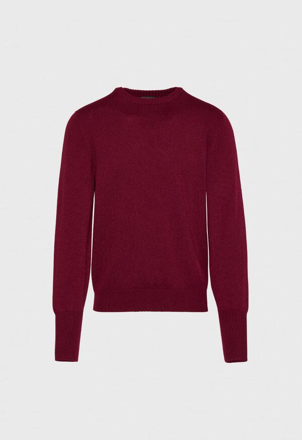 Scottish Cashmere Crewneck Sweater, image 1