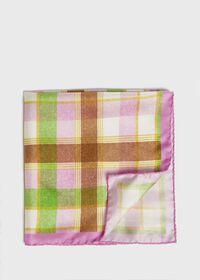 Multi Plaid Pocket Square, thumbnail 1