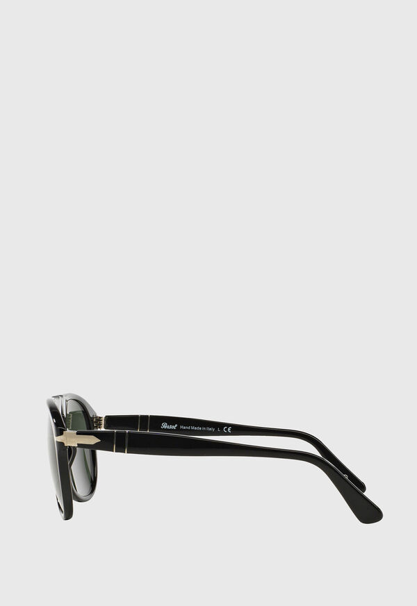 Persol's Black Aviator Sunglasses, image 3