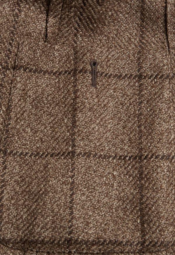 Brown Windowpane Jacket, image 3