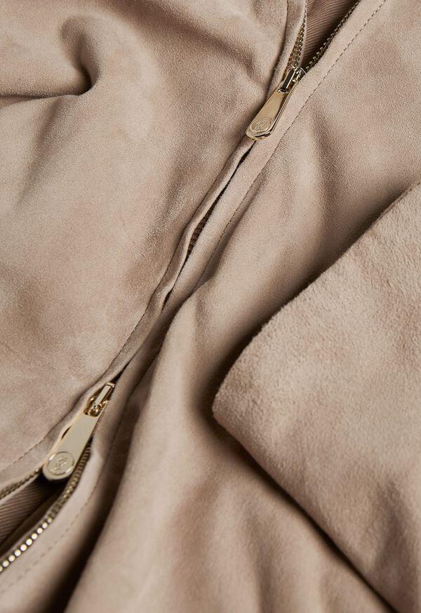 Suede Full Zip Jacket, image 3