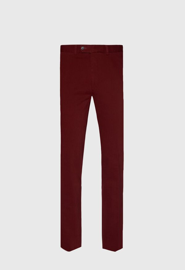 Crimson heavy weight Brushed Cotton Pant, image 1