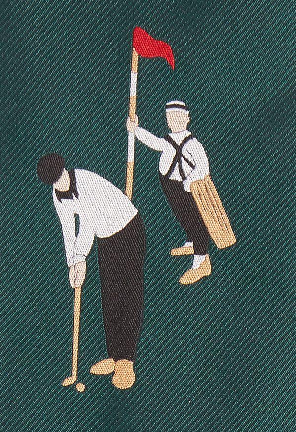 Golf Silk Tie, image 3