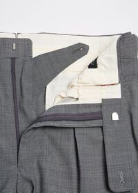 Pleated Pant with Adjuster Belt, thumbnail 2