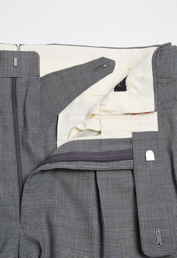 Pleated Pant with Adjuster Belt, image 2
