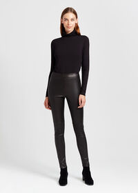 Stretch Leather Legging, thumbnail 6