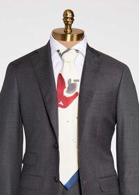 Polo Printed Scarf Tie, thumbnail 1