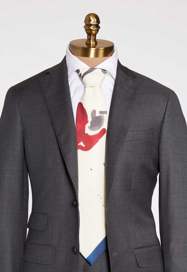 Polo Printed Scarf Tie, image 1