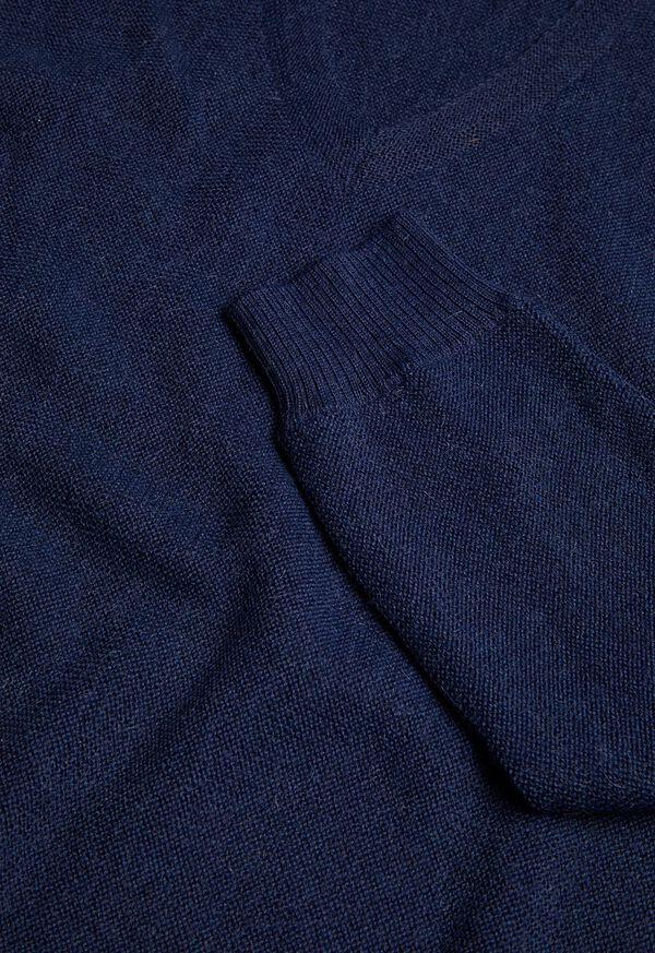 Alpaca Links V-Neck Sweater, image 2
