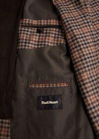 Plaid Travel Jacket with Suede Vest, thumbnail 5