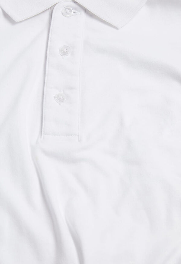 Pima Cotton Interlock Polo, image 7