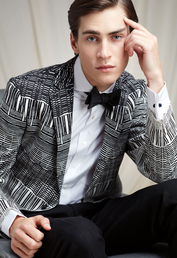 The Abstract Printed Jacket Look, image 1