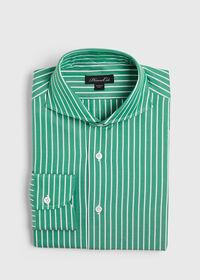 Oxford Wide Stripe Dress Shirt, thumbnail 1