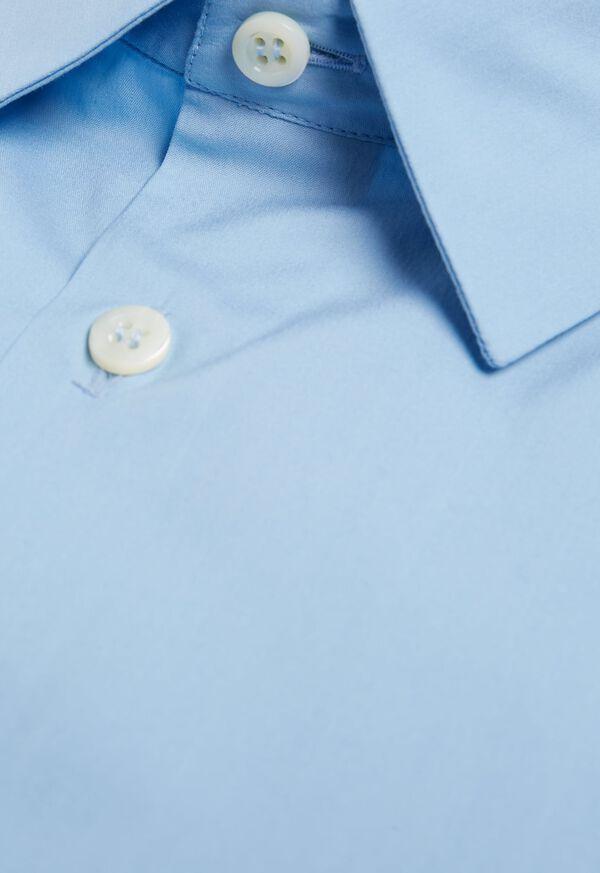 Slim Fit Poplin Stretch Dress Shirt, image 2