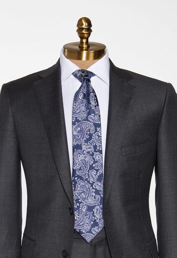 Satin Paisley Tie, image 2