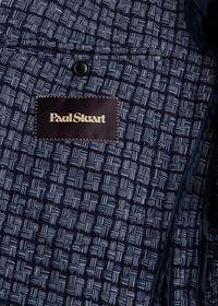 Blue Basket Weave  Jacket, thumbnail 6
