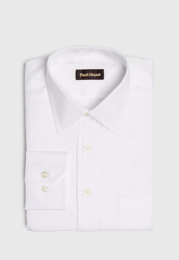 Super 140s 2-Ply Pinpoint Cotton Dress Shirt, image 1