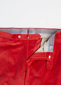 Slim Fit Cotton Velvet Pant, thumbnail 2