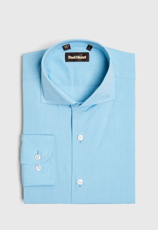 Cotton Chambray Sport Shirt, image 1