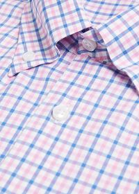 Check Cotton Sport Shirt, thumbnail 2