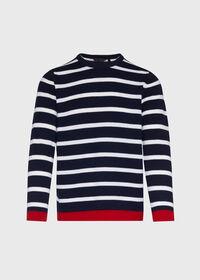 Cashmere Stripe Sweater, thumbnail 1