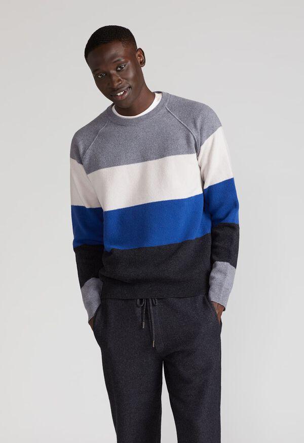 Block Stripe Wool Blend Sweater, image 3