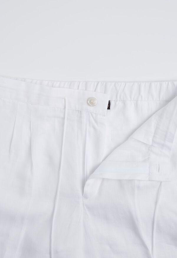 Linen Drawstring Shorts, image 4