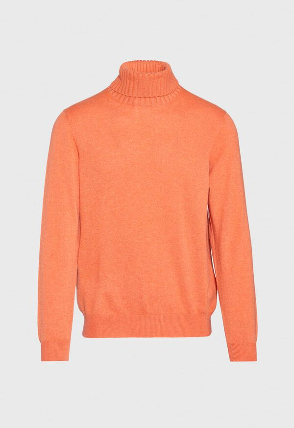 Cashmere Solid Turtleneck, image 6