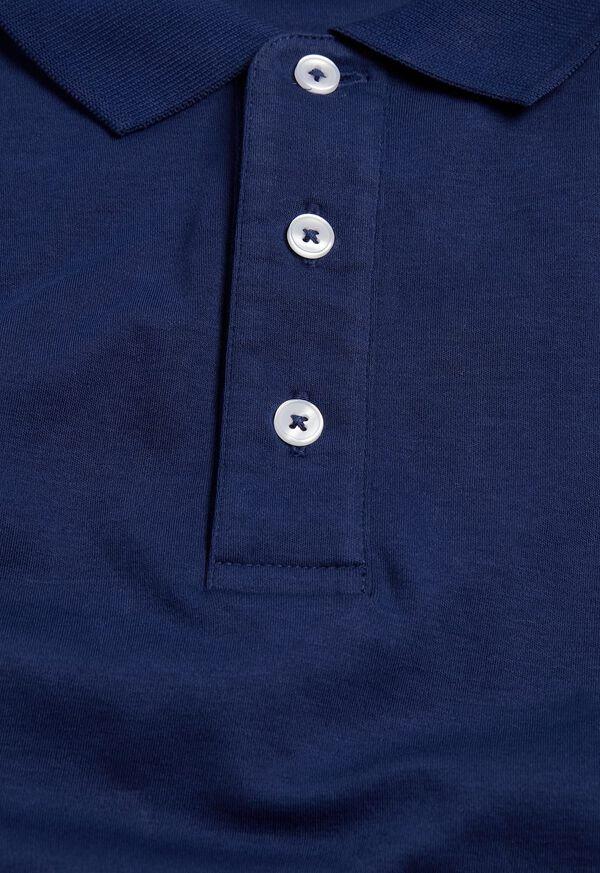 Pima Cotton Interlock Polo, image 8