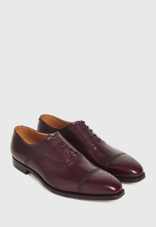 Gerry Cap Toe Lace Up with Medallion, image 3