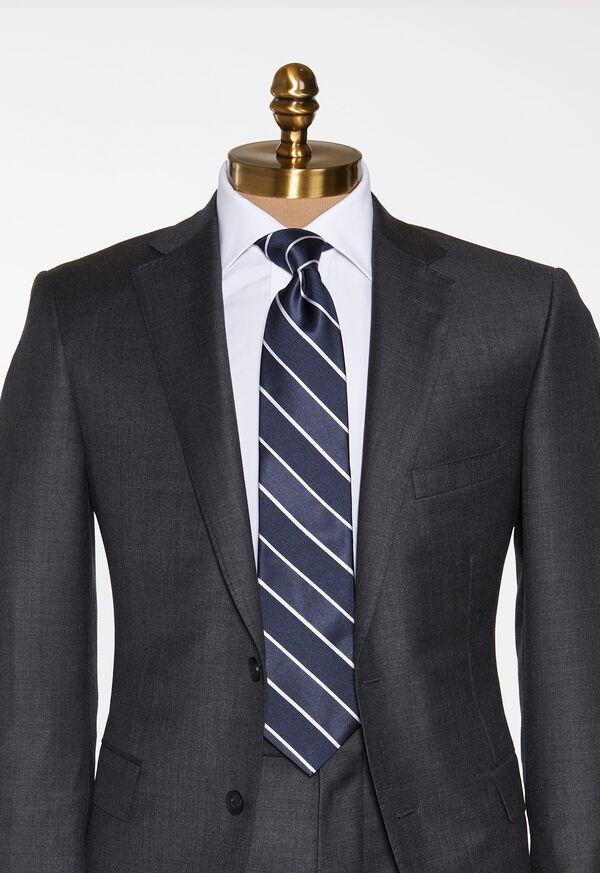 Stripe Satin Tie, image 2