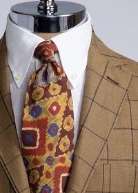 Linen Windowpane Soft Jacket, thumbnail 4