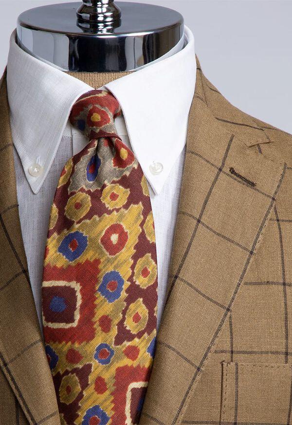 Linen Windowpane Soft Jacket, image 4