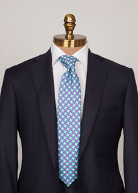 Three Color Houndstooth Tie, thumbnail 2