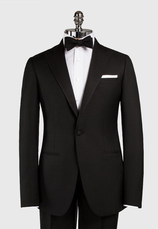 Super 110s Wool Peak Lapel Tuxedo, image 6