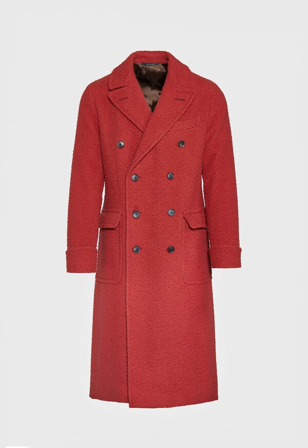 Casentino Wool Overcoat, image 1