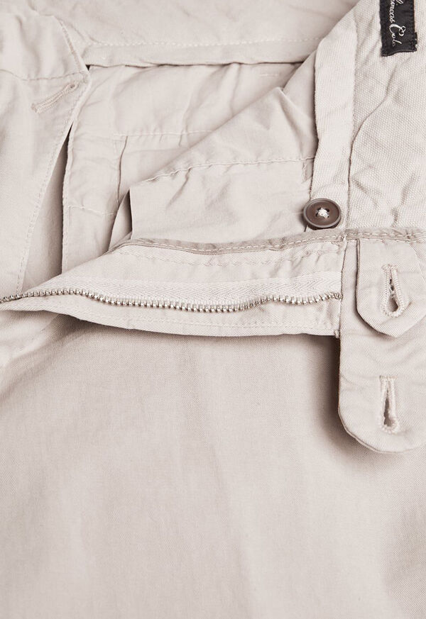 Garment Dyed Plain Front Pant, image 2