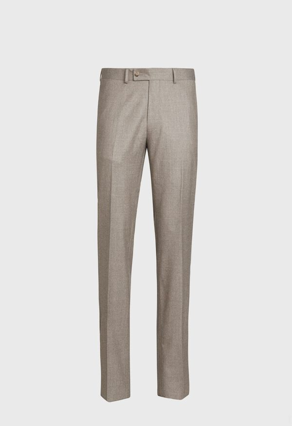 Super 120s Flannel Trouser, image 1