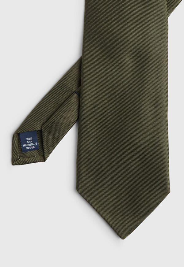 Solid Silk Twill Tie, image 1