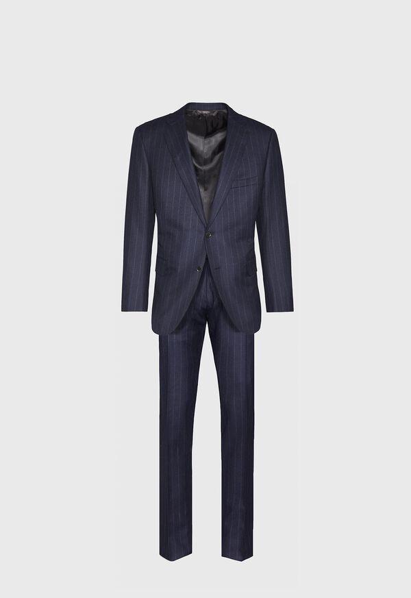 Tonal Blue Stripe Suit, image 1