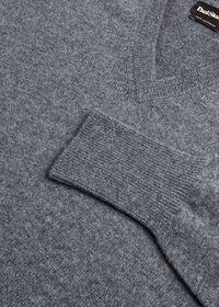 Scottish Cashmere V-Neck Sweater, thumbnail 34