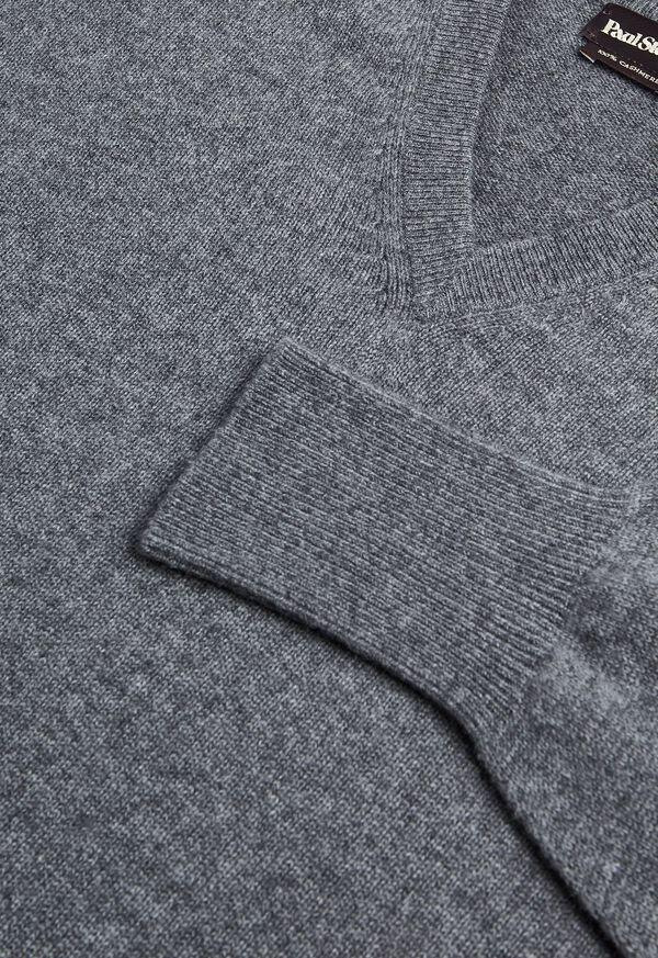 Scottish Cashmere V-Neck Sweater, image 34