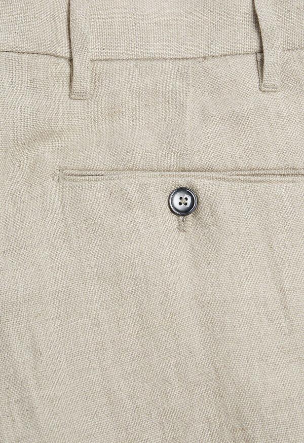 Tan Linen Pant, image 3