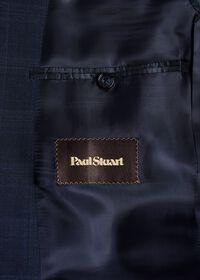 Fainted Deco Pane Super 150s Wool Suit, thumbnail 4