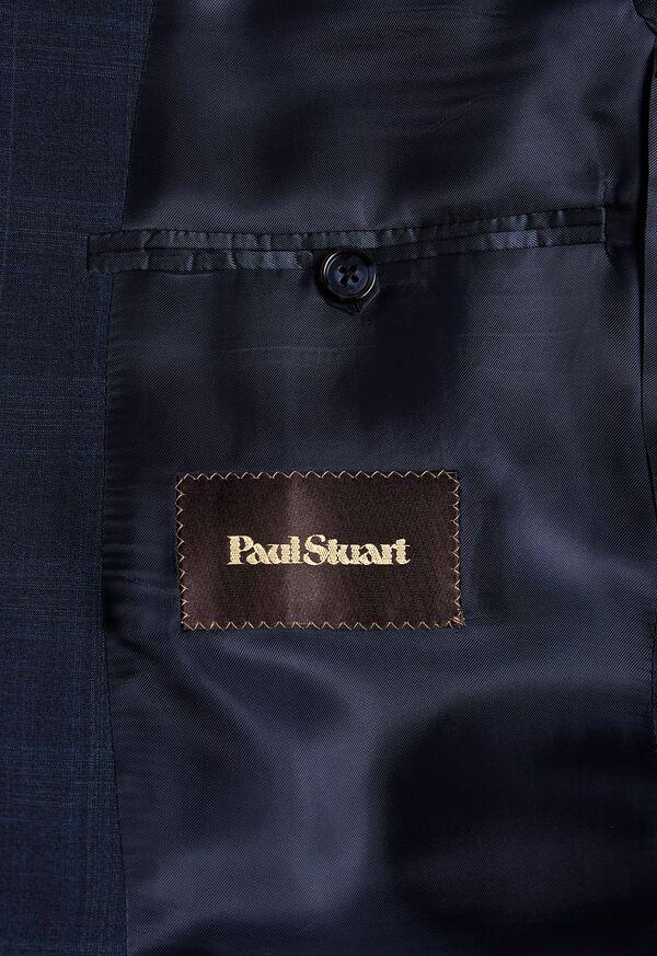 Fainted Deco Pane Super 150s Wool Suit, image 4