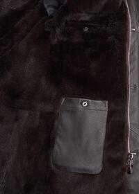 Fur Hooded Parka Coat, thumbnail 3